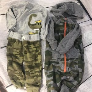 Carters camo outfits